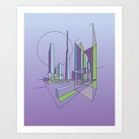 City Movements 06 Art Print