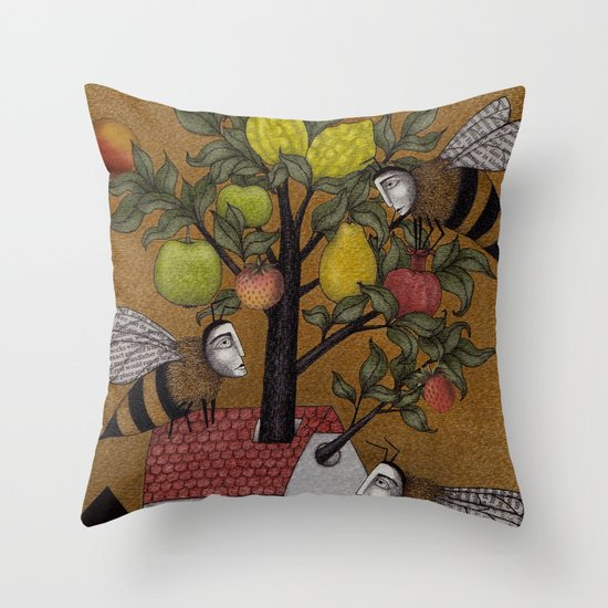 We need the BEE! Throw Pillow