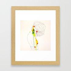 PAVO REAL Framed Art Print