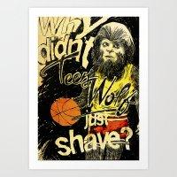 Teen Wolf Art Print