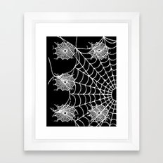 WEB PAGE Framed Art Print