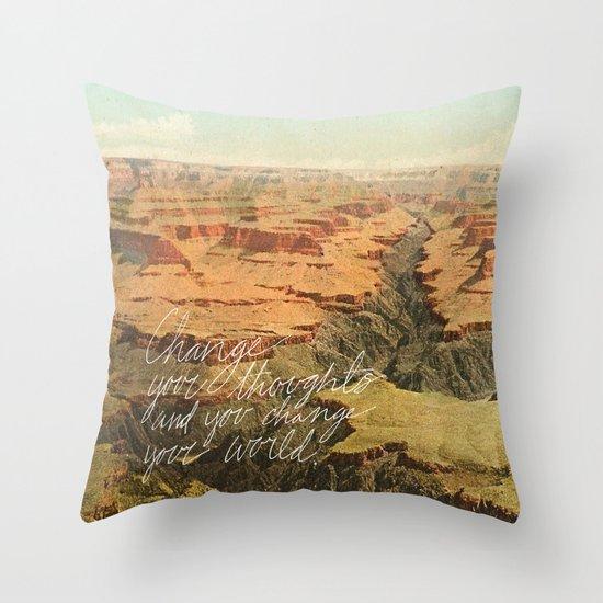 Change Throw Pillow