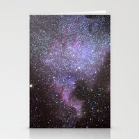 North American Nebulae. The Milky way. North America Nebula Stationery Cards