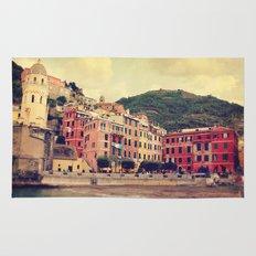 Vernazza harbor Cinque Terre Italy Rug