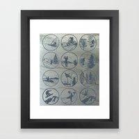 Outdoor Sports Framed Art Print