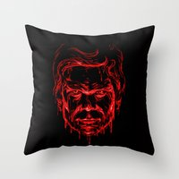 The Dark Passenger Throw Pillow