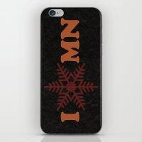 I Heart Snow iPhone & iPod Skin