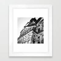 away from this city  Framed Art Print
