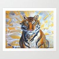 Majestic Aura Art Print