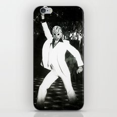 JASON VORHEES AS JOHN TRAVOLTA iPhone & iPod Skin