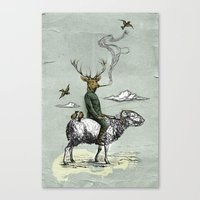 Cavalry Canvas Print