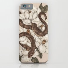 Snake and Magnolias iPhone 6 Slim Case