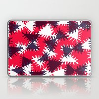 Triangle painted and digital pattern Laptop & iPad Skin