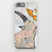 iPhone & iPod Case featuring The Horn of Africa by Catherine Holcombe