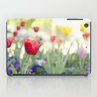 Welcome spring iPad Case