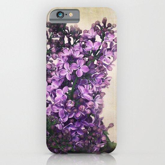 Lilacs iPhone & iPod Case