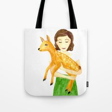 Audrey & Pippin Tote Bag