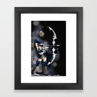 Archère Framed Art Print