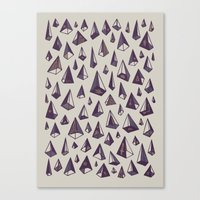 Triangles Are My Favorite Shape Canvas Print