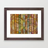 Around The World In Thir… Framed Art Print