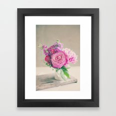 Midday Bouquet Framed Art Print