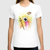 Meme Womens Fitted Tee White SMALL