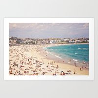 Bondi Beach  Art Print