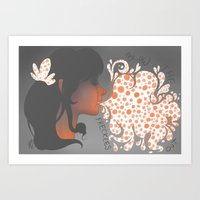 Bubbles Art Print