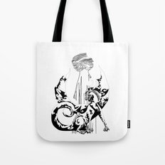 A Dragon from your Subconscious Mind Tote Bag