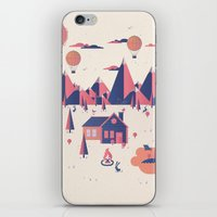 Retreat iPhone & iPod Skin