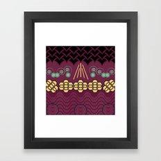 HARMONY pattern Alt 2 Framed Art Print