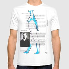Carl Gustav Jung – Nude.1 Mens Fitted Tee White SMALL