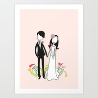 It takes two Art Print