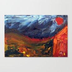 Expressionist Landscape Canvas Print