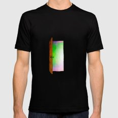 Door Mens Fitted Tee Black SMALL