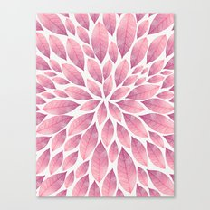 Petal Burst #10 Canvas Print