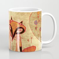 Foxes In Love Mug