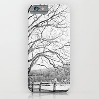 Bare winter iPhone 6 Slim Case