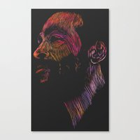 Marvin Gaye Color version Canvas Print