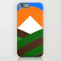iPhone & iPod Case featuring Mt Hood & Vineyard by Buchino