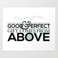 Every Good and Perfect Gift Art Print