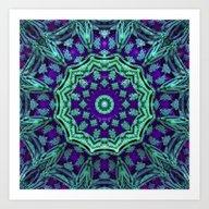 Ye Olde Mandala Art Print