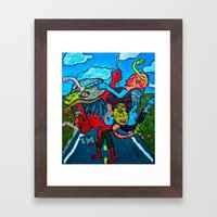 People and Generations  Framed Art Print