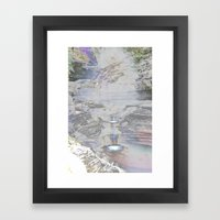 Chromascape 9 (Watkins Glen) Framed Art Print