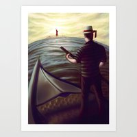 From Italy to New York Art Print
