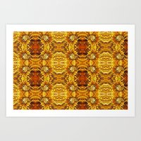 AMMONITE FANTASY Art Print