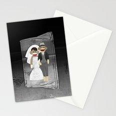 Sock Monkey Wedding Stationery Cards