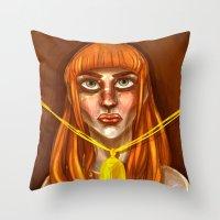 the Lorraine Throw Pillow