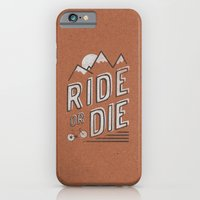 iPhone & iPod Case featuring Ride or Die by Zeke Tucker