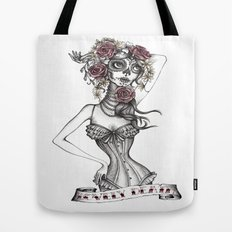 Lovely Death B/W Tote Bag